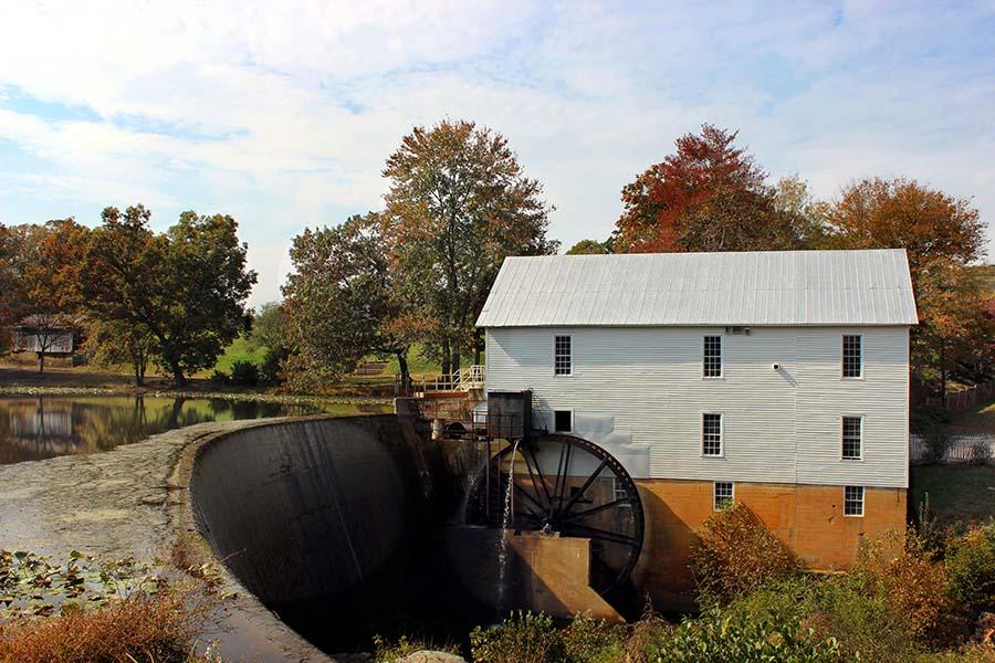 Hickory NC - Historic Mill in Hickory North Carolina
